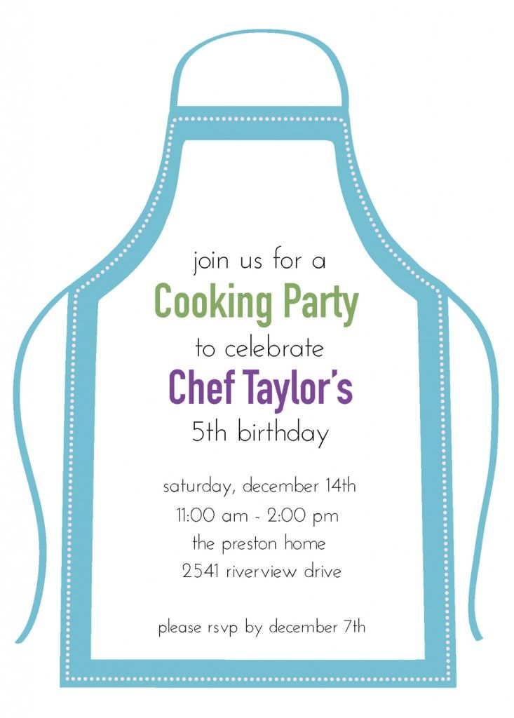 10 best Chef party images on Pinterest | Chef party, Birthday party ...