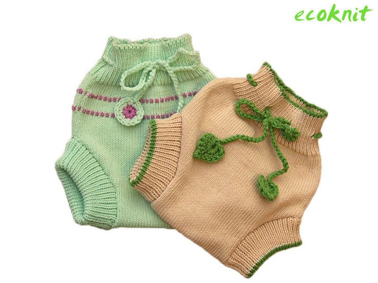 Summer Diaper Cover 100% MERINO WOOL baby infant cloth nappy nappies soaker knit #tevirP