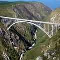 Bungee jumping at Bloukrans Bridge in the heart of the garden route.