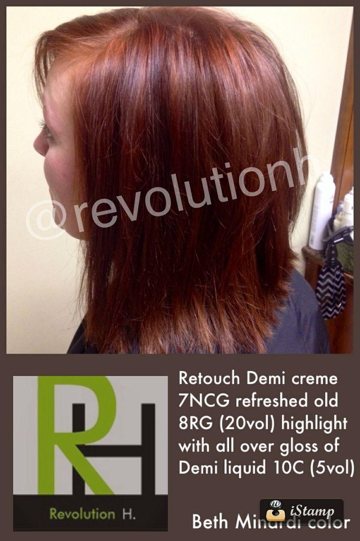 Minardi signature color @ Revolution H. Salon & 183 best Beth Minardi images on Pinterest   Hair coloring Hair ... azcodes.com