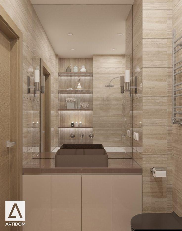 Bathroom travertine/ санузел