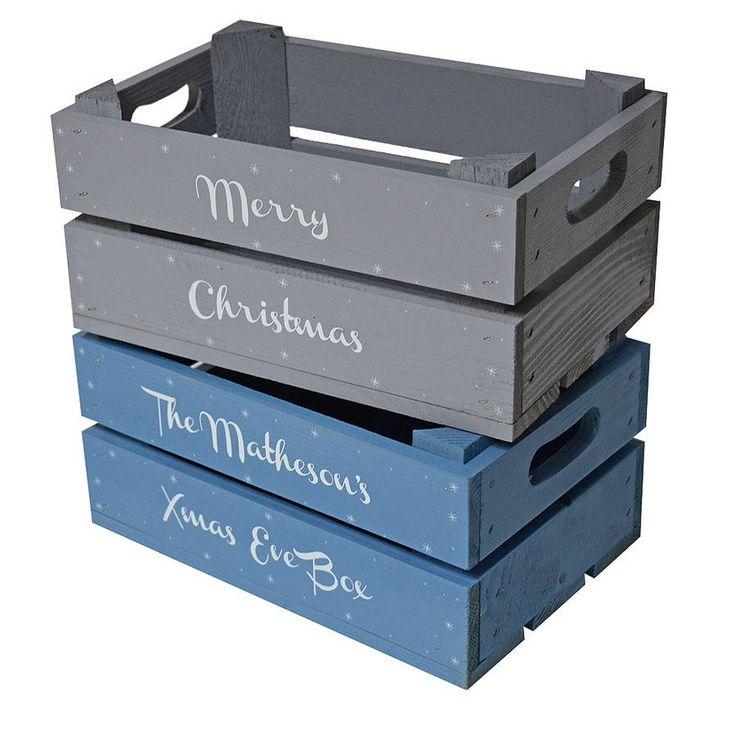 Personalised Small Christmas Box