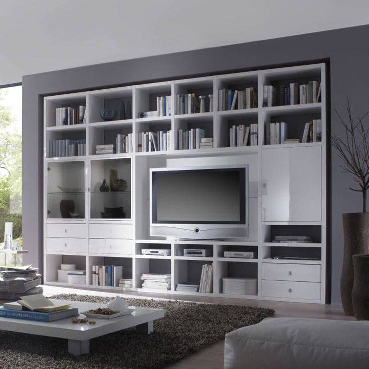 Die besten 25+ Tv wand hochglanz Ideen auf Pinterest - wohnzimmer weiß hochglanz