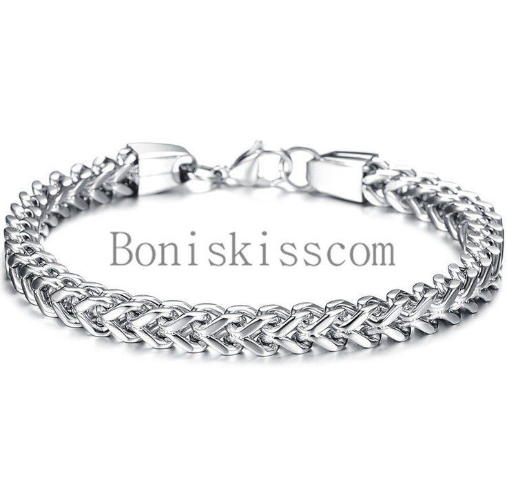 list bangles listings chain fashion silver link noble bracelet sideways nice square new women item quality mens sterling men high bracelets in bangle gifts buckle jewelry solid from