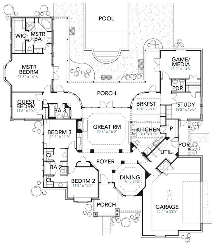 49 Best Images About Floorplan On Pinterest House Plans