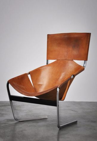 Super patined F444 designed by Pierre Paulin (1927-2009) for Artifort in 1963.