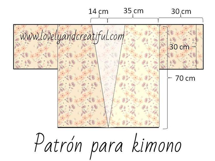 Cómo confeccionar un kimono