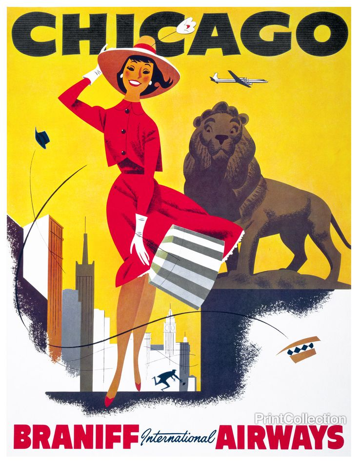 vintage travel posters from printcollection.com