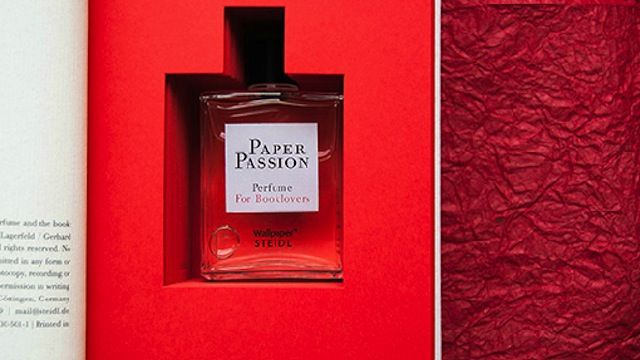 Spritz this perfume on your e-reader to make it smell like a paper book. Bizarre...