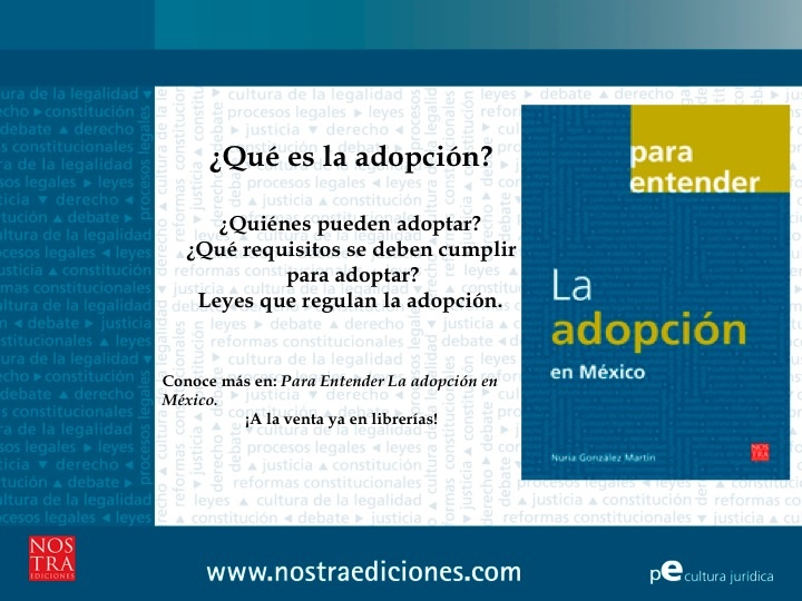 ¿Qué es la adopción?¿Quiénes pueden adoptar?¿Qué requisitos se deben cumplir para adoptar?Conoce más en: Para Entender La adopción en México.