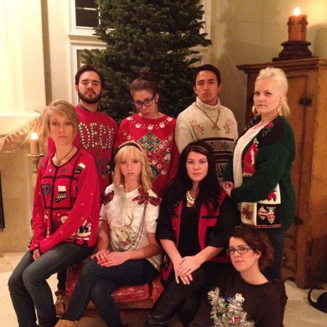 Awkward family photos christmas sweaters