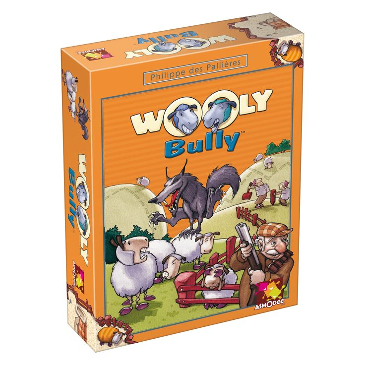 Asmodee Editions Wooly Bully Game