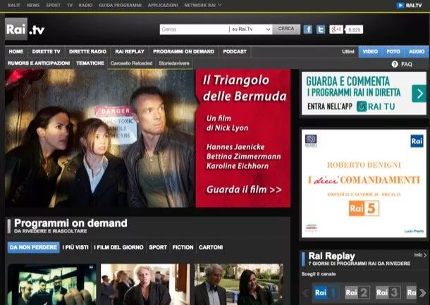 Come rivedere programmi TV