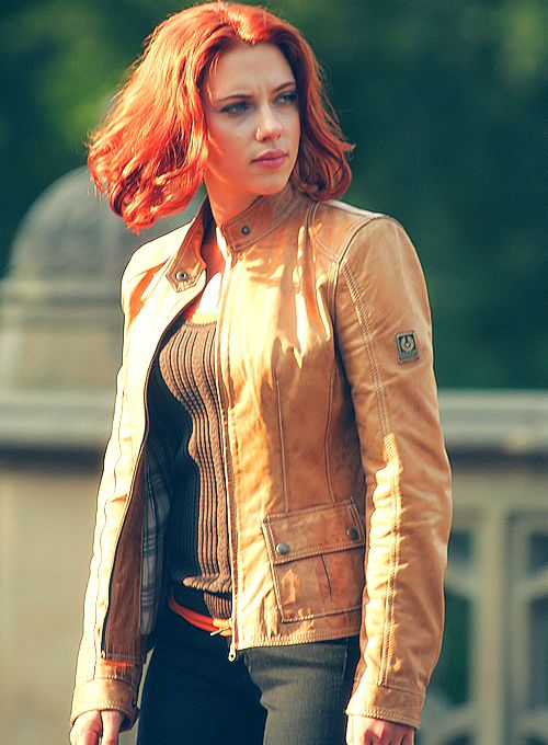 Natasha Romanoff, one of my role-models. Not quite sure if that's a good thing or not...