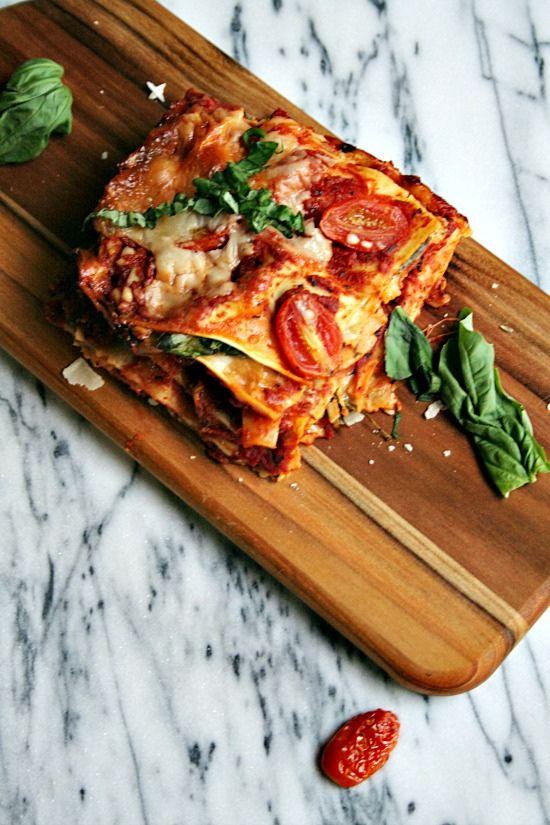Vegetarian Lasagne - Heather's French Press