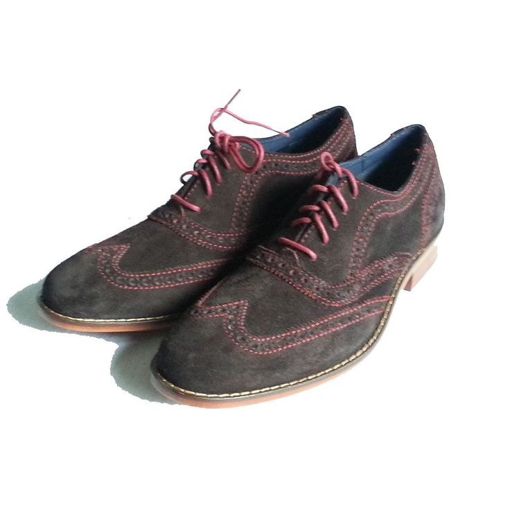 #men boots COLE HAAN NIKE Air Wingtip oxford Brown Suede Men's shoes Size 7.5 Model C11169 ColeHaan withing our EBAY store at  http://stores.ebay.com/esquirestore