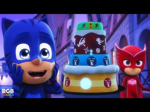 da234cb5563e PJ Masks! Full Episodes! | Catboy and the Great Birthday Cake Rescue |  Disney Junior! - YouTube
