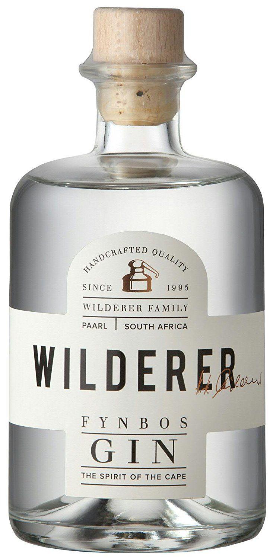 Wilderer - Fynbos Gin - Handgemachter Gin der Extraklasse - 1 Flasche á 0,5L - 45% Vol. - Feinste Natürliche Kräuter