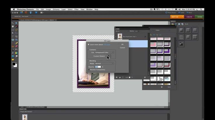 how to add text to photo in photoshop elements