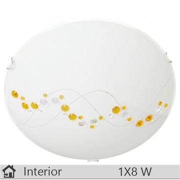 Plafoniera iluminat decorativ interior Klausen, gama River, model D300