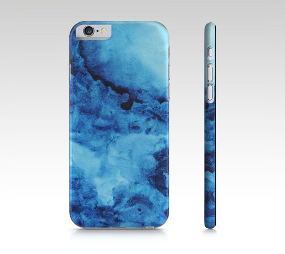 Blue watercolor, Phone case , iPhone 6, iPhone 6 plus, iPhone 5s/5, iPhone 5c, iPhone 4, Galaxy Case, Original Artwork , Abstract Artwork This cell