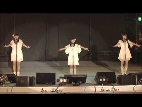 """Ooooohhh... They sang the song!!!! Menma, Anaru and Tsuruko! """"Secret Base"""" song was sang by them!"""