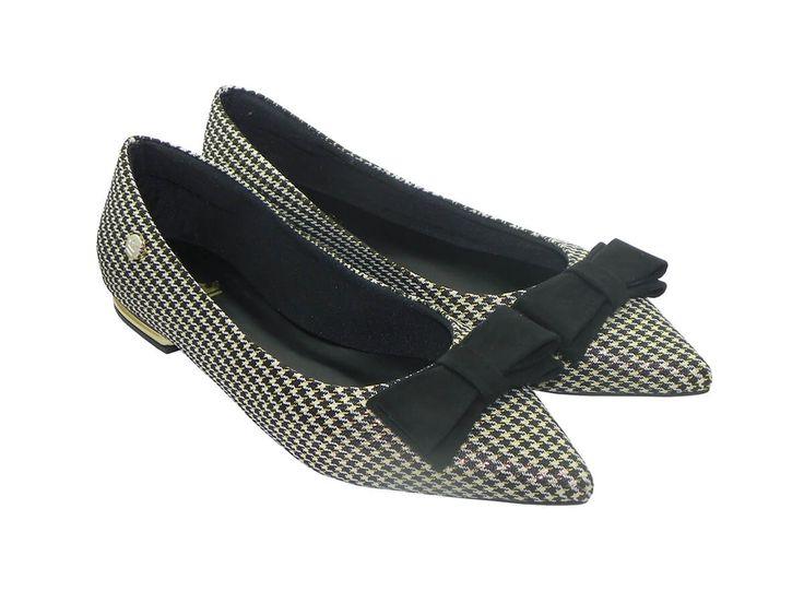 Compre Sapatilha Xadrez com Laço em nossa loja de calçados online, calçado de qualidade e design incomparável. Parcele sua compras em até 6x nos cartões ou com desconto no boleto à vista.