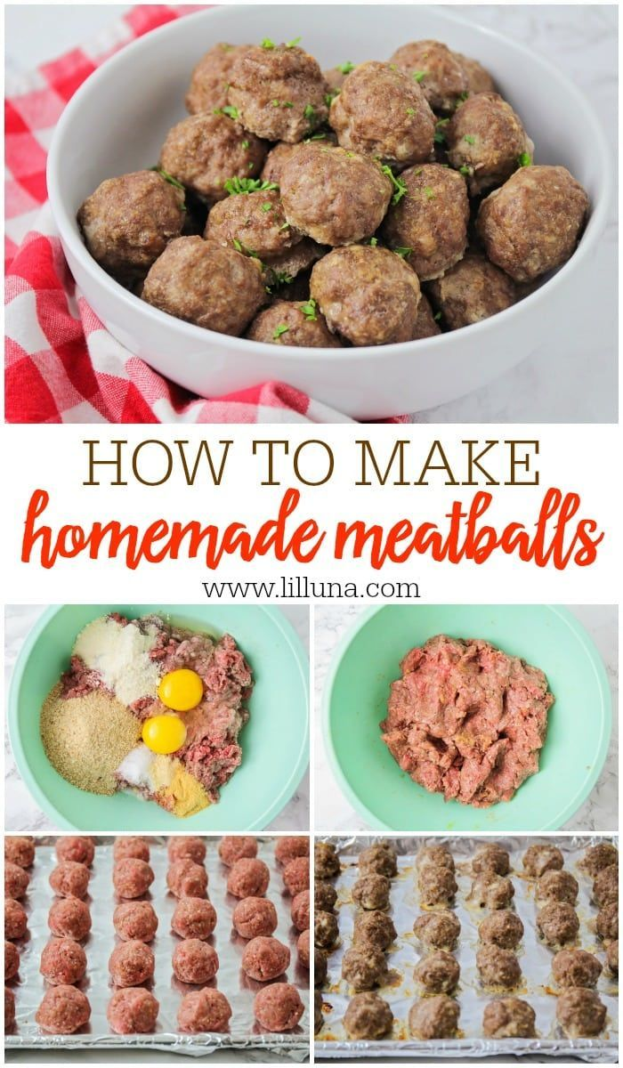 Easy Meatball Recipe Step By Step Video Lil Luna Recipe Meatball Recipes Easy Homemade Meatballs Recipe Homemade Meatballs Easy
