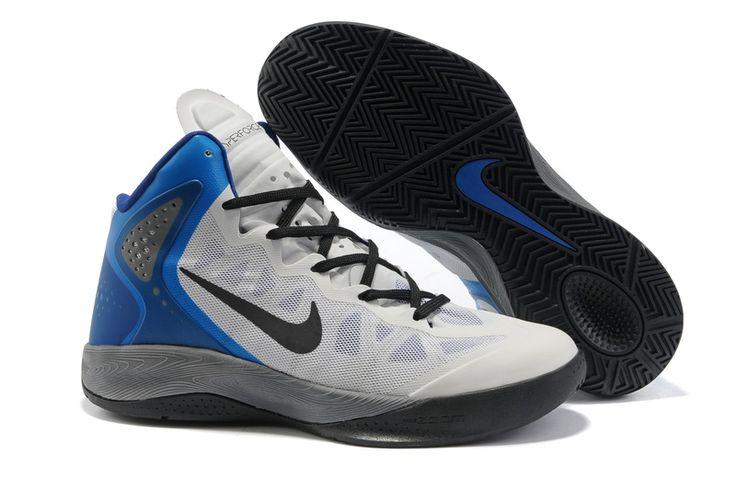 Nike Hyper Force PE 2012 Black White Blue Grey