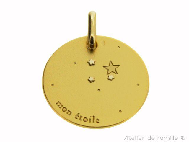 médaille mon étoile - Atelier de famille