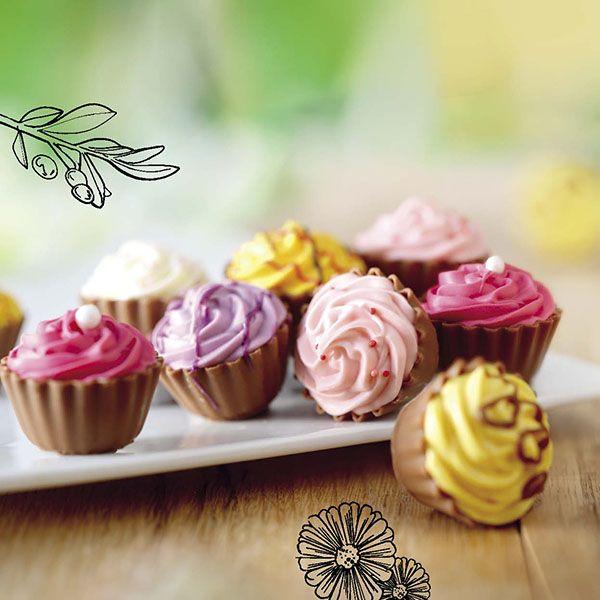 So sweet! Cupcakes van chocolade.