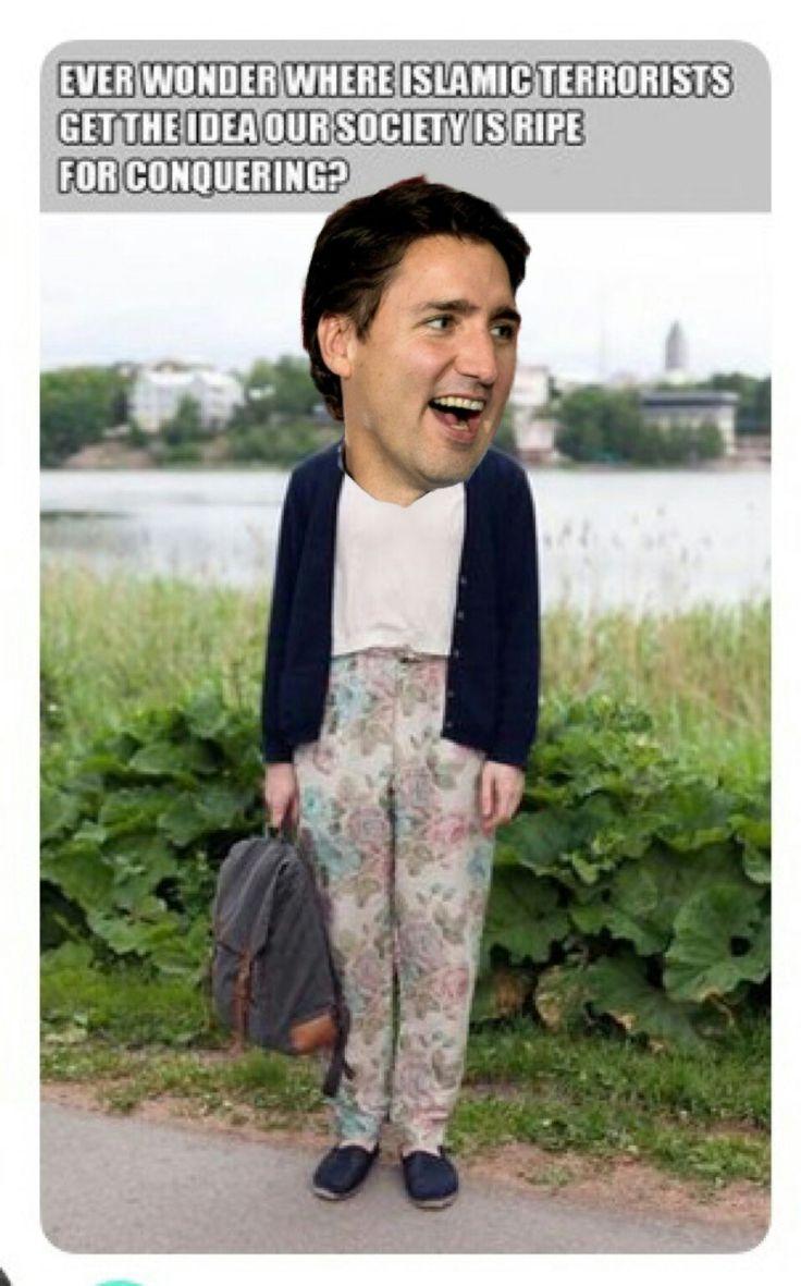 Trudeau asking Islamic people in