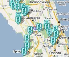 Más De Ideas Increíbles Sobre Florida Springs Map En Pinterest - Map de florida