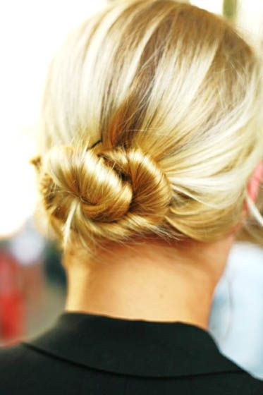 14. Cinnamon Bun    Another delicious hairstyle for long hair is the cinnamon bun. This one is ideal for formal occasions or an evening out when you're opting …