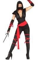 Disfraz de Ninja Negro Mujer