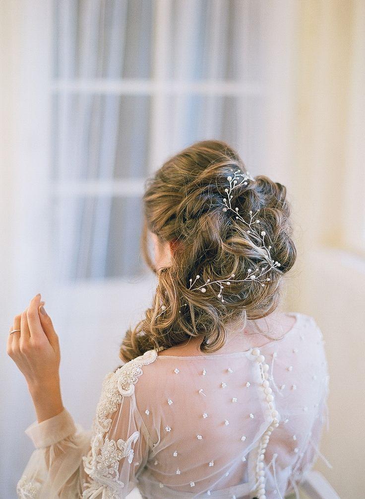 Pearls Hair Vine