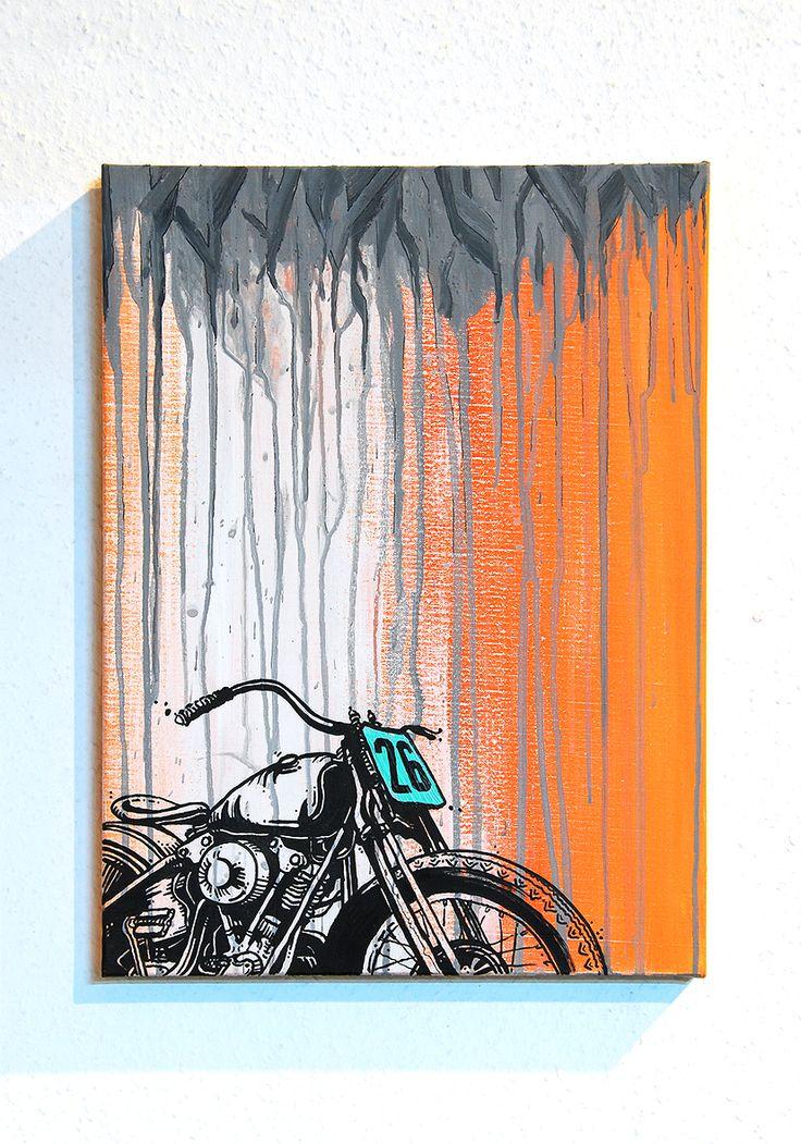 Vintage Harley Davidson Motocultura7
