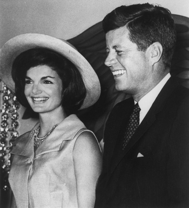 John and Jackie Kennedy | Jaqueline and John F. Kennedy inspired this name's current ...