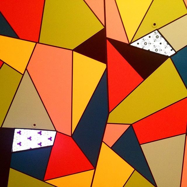 Pattern Play exhibition on at TMAG. #tasmania #inspiration #patternplay #geometricart