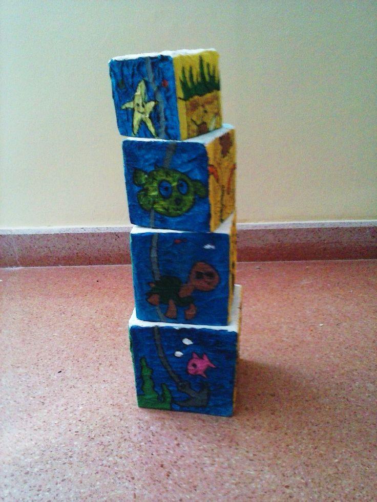 10 best juguetes con material de reciclaje images on - Material de construccion ...