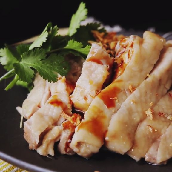 How to make Hainanese Chicken Rice.