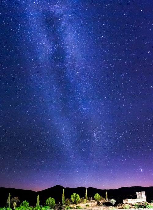 llbwwb:  Milky way over Tuscany - Italy  [Explored] (by luigig75)