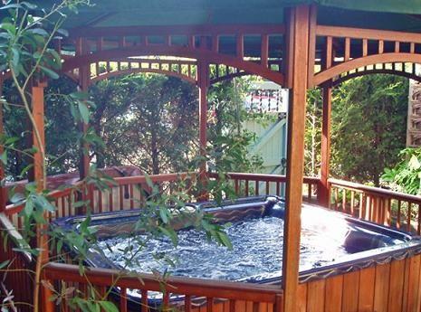 Garden Gazebo Hot Tub For The Home Pinterest