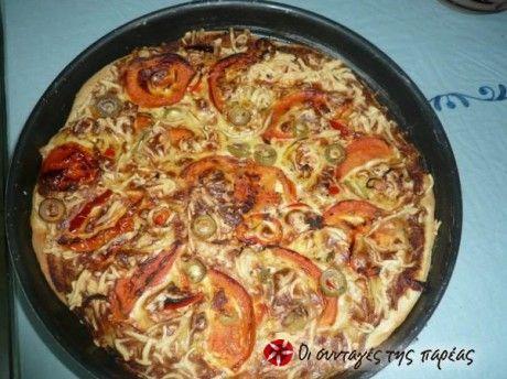 Παραδοσιακή πίτα από τη Μήλο και την Κίμωλο, μια πιο υγιεινή εκδοχή της πίτσας.