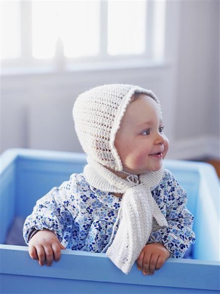 1508: Design 6 Lue og skjerf #strikk #knit #merino