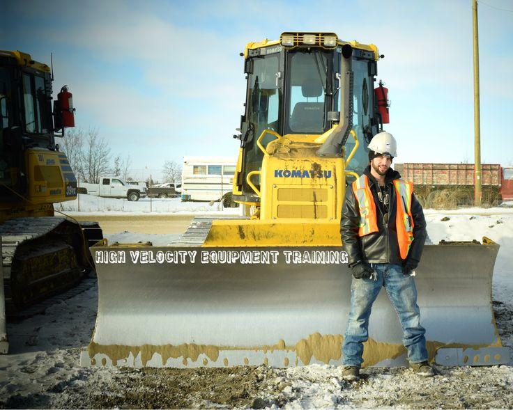 #dozer #bulldozer #komatsu #hvet #highvelocity #heavyequipment #highvelocity #heavymachinery #sky #construction #winter #snow #blade #camrose #ab #alberta #yellow