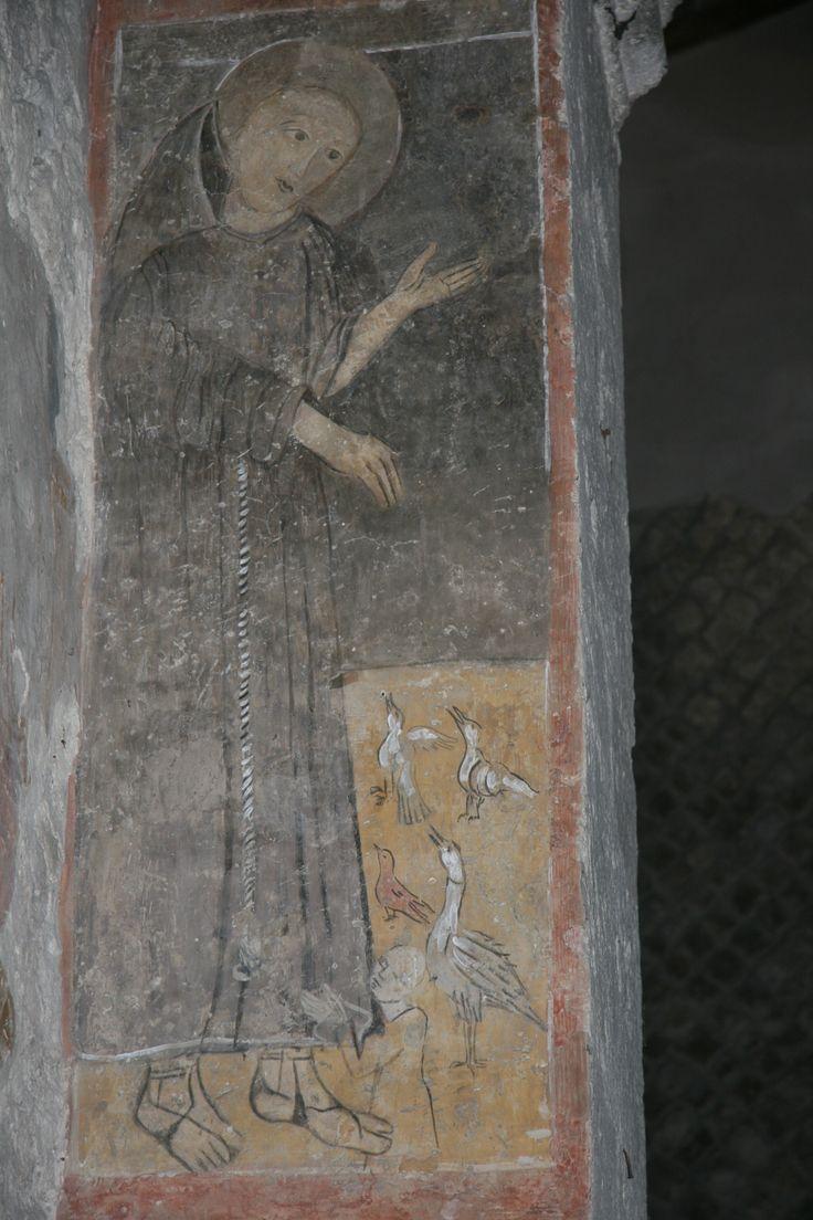 Saint Francis at San Gregorio, Ascoli, 1228?