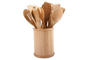 One Kings Lane - Stock Up - 14-Pc Utensil Set