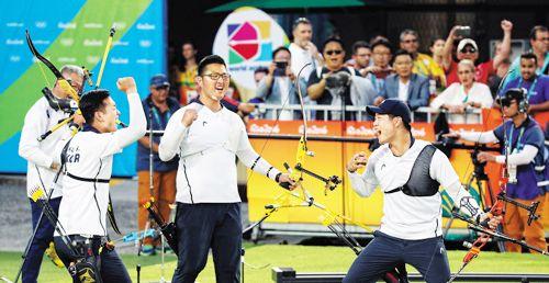 South Korea Earns Gold in Archery at 2016 Summer Olympics in Brazil | Koogle TV