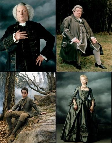Vanity Fair's feature of Tim Burton's 'Sleepy Hollow' (1999). Costume Designer: Colleen Atwood